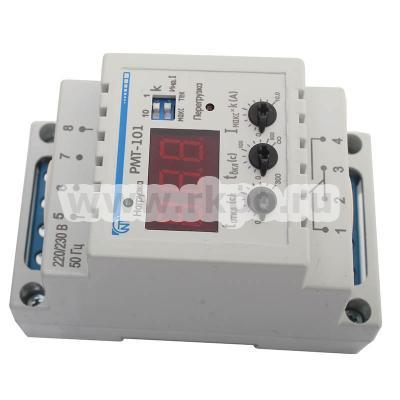 Реле РМТ-101 максимального тока  - лицевая панель